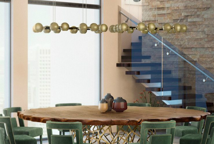 How to Create A Contemporary Dining Room With Modern Lighting 3 8 740x500  Front page 3 8 740x500