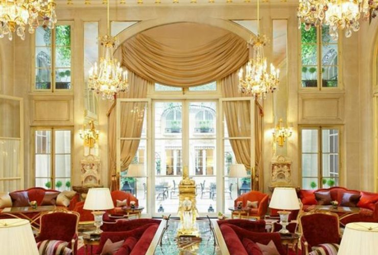 Get Inspired by Hotel Crillon Lighting