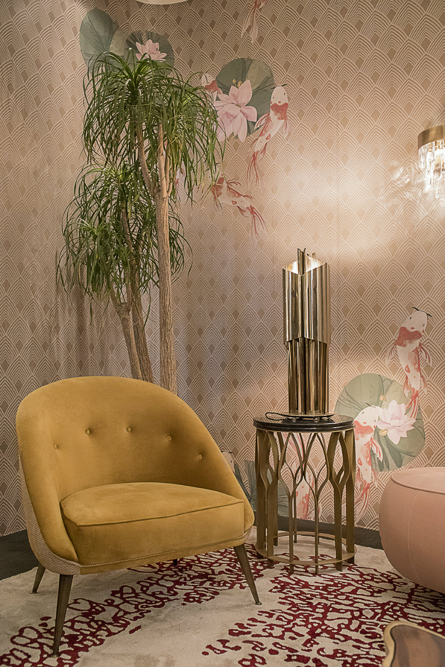 decorex Know CYRUS TABLE LIGHT at DECOREX 2018 oo