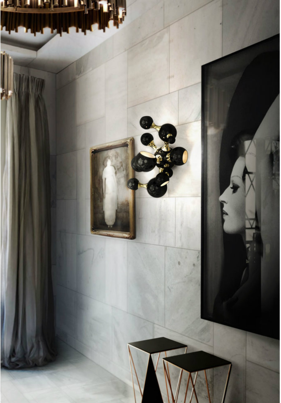 How To Style Your Wall With Mid-century Modern Lighting modern lighting How To Style Your Wall With Modern Lighting Atomic wall light gallery