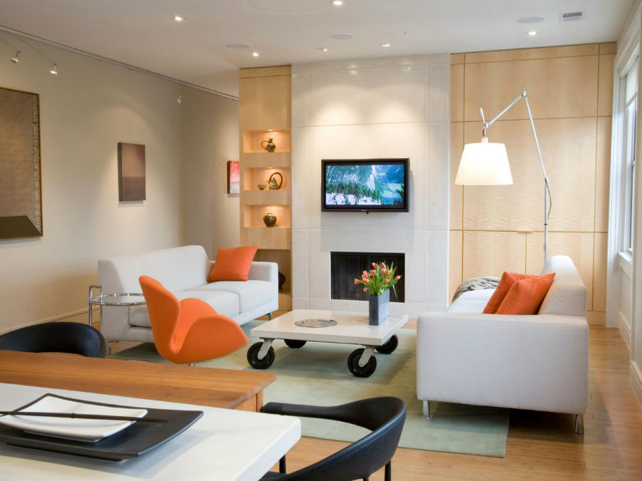 The Best Modern Lighting Solutions For A Small Living Room modern lighting The Best Modern Lighting Solutions For A Small Living Room Variation of sources