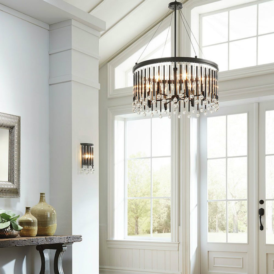 modern lighting 5 Entryway Modern Lighting Ideas That Steal The Show 2afb5c4390fdbba25588a61cc0e9a0aa