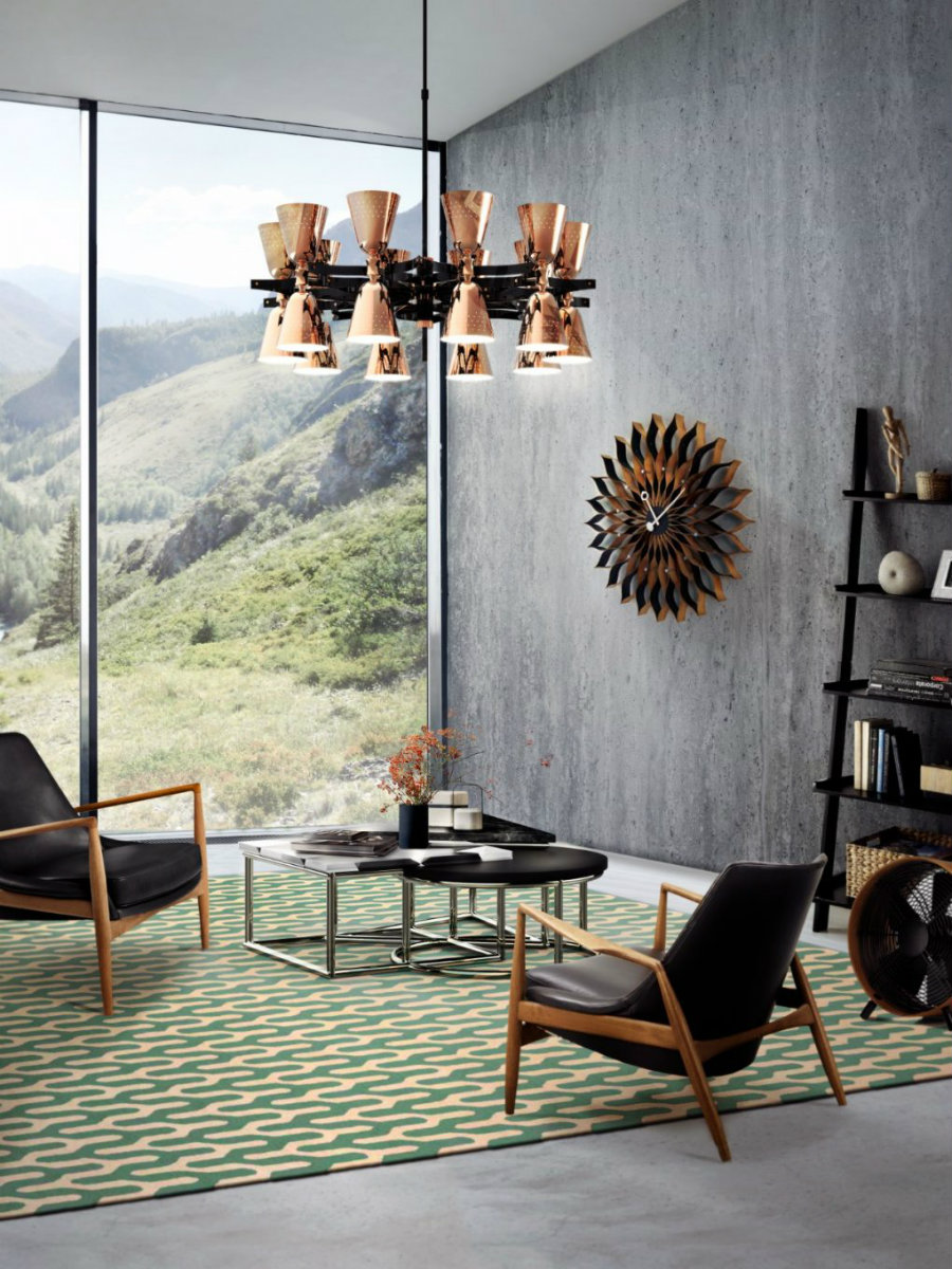 HOW A SUSPENSION LIGHT CAN ELEVATE YOUR LIVING ROOM DECOR suspension light HOW A SUSPENSION LIGHT CAN ELEVATE YOUR LIVING ROOM DECOR How A Mid Century Chandelier Can Elevate Your Living Room Decor 1 1020x1360