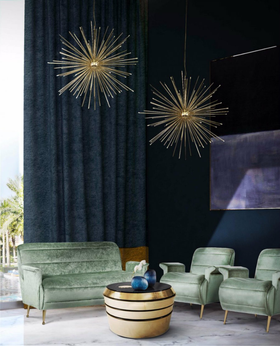 HOW A SUSPENSION LIGHT CAN ELEVATE YOUR LIVING ROOM DECOR suspension light HOW A SUSPENSION LIGHT CAN ELEVATE YOUR LIVING ROOM DECOR How A Mid Century Chandelier Can Elevate Your Living Room Decor 2 1020x1258