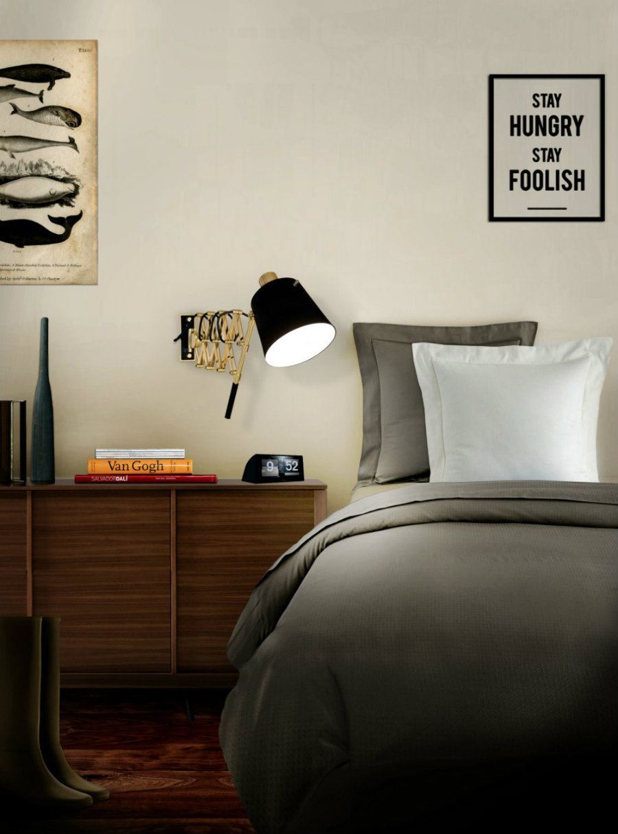 modern lighting MODERN LIGHTING IDEAS FOR YOU TO BUILD THE PERFECT BEDROOM Inspiring Ideas for You to Build the Perfect Mid Century Bedroom 2