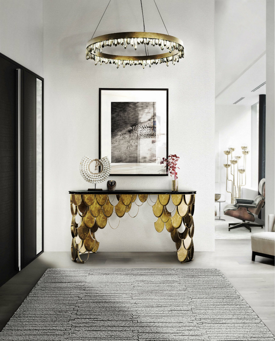 modern lighting 5 Entryway Modern Lighting Ideas That Steal The Show brabbu ambience press 55 HR