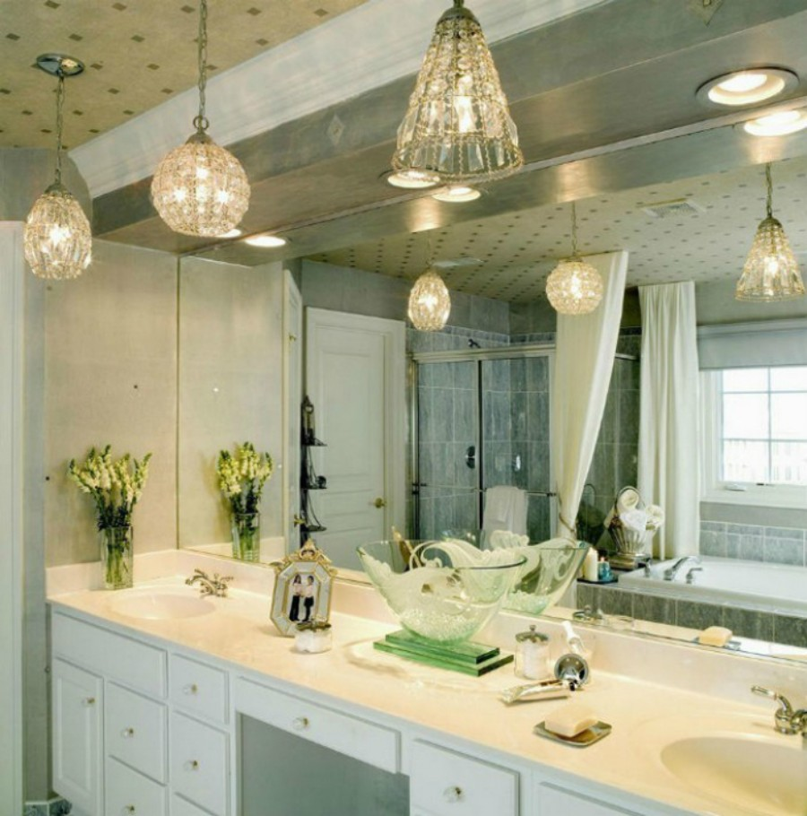 Suspension Modern Lighting for a Luxury Bathroom suspension modern lighting Suspension Modern Lighting for a Luxury Bathroom The Perfect Suspension Lighting for a Luxury Bathroom 3
