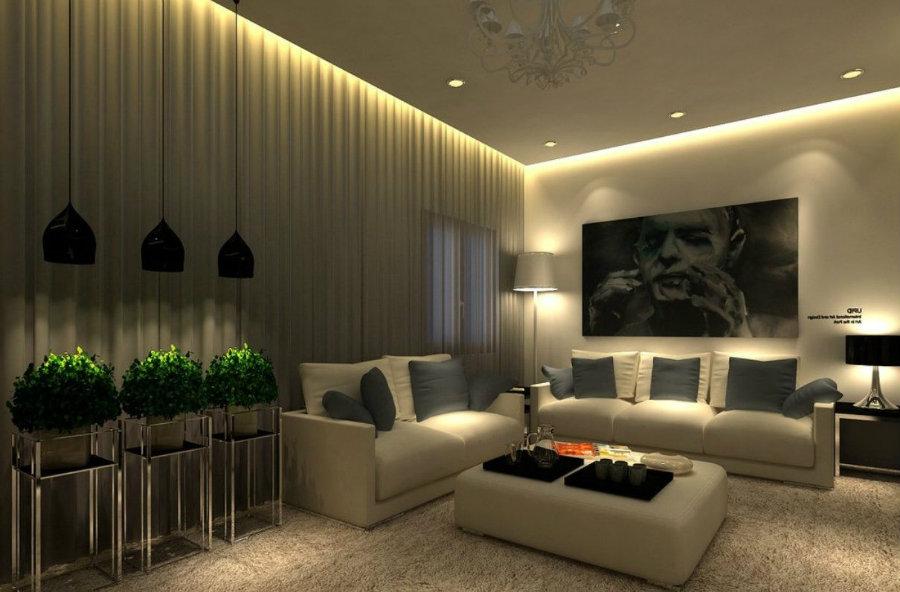 Interior Design Tips: Modern Living Room Lighting