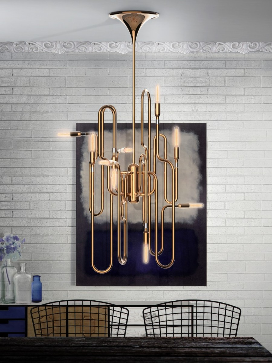 BEST MODERN LIGHTING IDEAS FOR YOUR HOME modern lighting ideas Best Modern Lighting Ideas for Your Home Product of the Week Jazz Inspired Clark Pendant Lamp 2