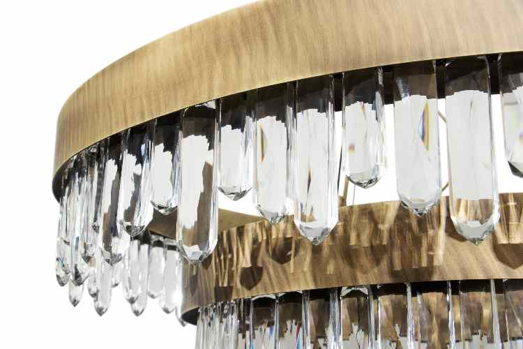 Modern Lighting in the New Lifestyle Images by BRABBU modern lighting Modern Lighting in the New Lifestyle Images by BRABBU New Ambience by BRABBU NAICCA CHANDELIER detail1