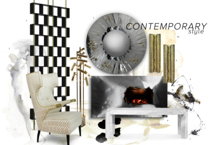contemporary design Contemporary Design Style Lighting Magnificence Splendid Contemporary Style Lighting1
